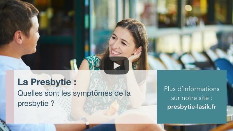 Quelles sont les symptômes de la presbytie?