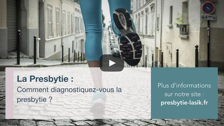 Comment diagnostiquez vous la presbytie