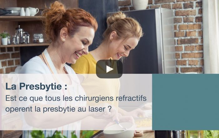 Est ce que tous les chirurgiens refractifs operent la presbytie au laser